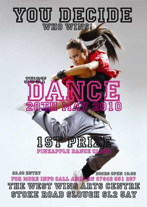 Image of Just Dance Flyer