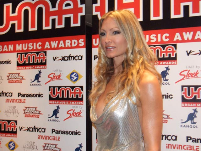Caprice on the Red Carpet at The UMA