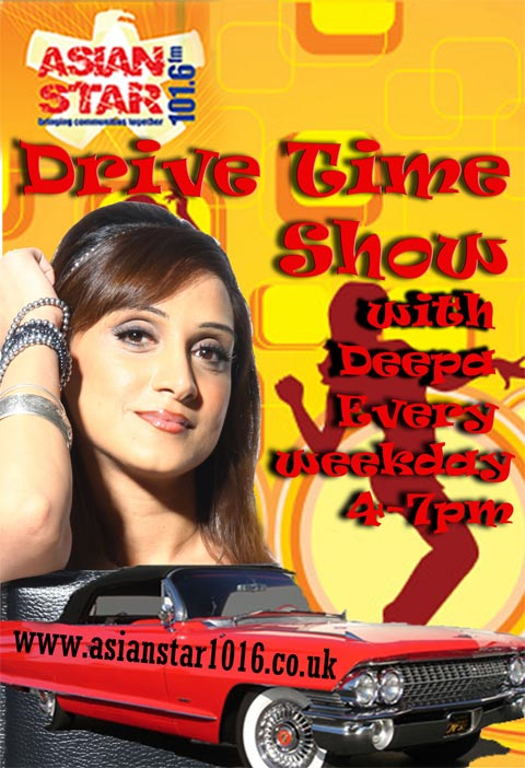 Drive Time with Deepa - Asian Star FM