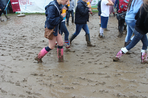 mud at guilfest 2012