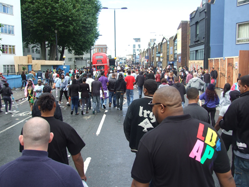 Crowd at Notting Hill Carnival 2010