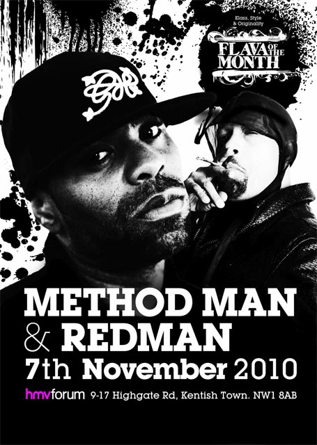 Method man and Redman HMV Forum, 7th November 2010