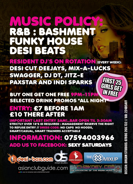 sexy saturdays @ barracuda bar ealing
