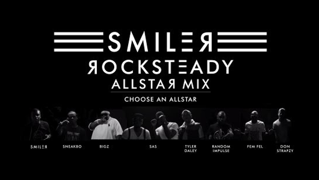 Smiler brings the stars out for Rocksteady remix