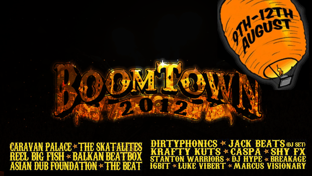 Boom Town Festival 2012 review