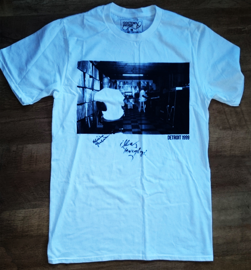 J. Dilla Foundation signed T Shirt