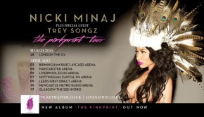 NIcki Minaj - The Pinkprint tour