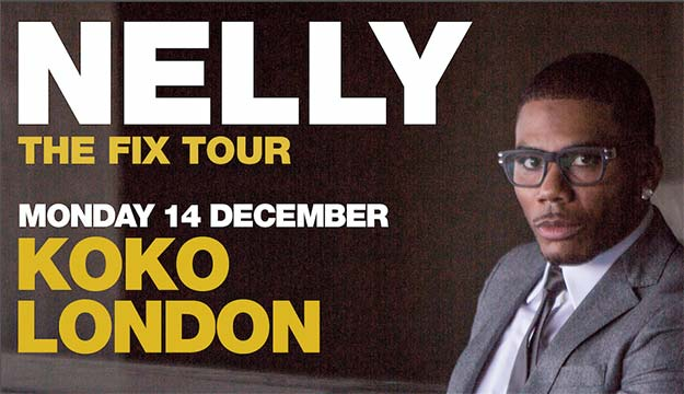 NELLY – 'THE FIX TOUR' COMES TO KOKO