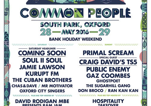 COMMON PEOPLE SOUTHAMPTON RETURNS AND COMMON_PEOPLE, OXFORD