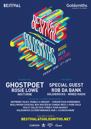 BESTIVAL AT GOLDSMITHS
