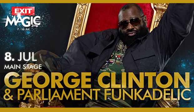 "George Clinton & Nitsa Club Barcelona join ""Exit Festival"" Line Up"