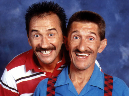 We officially declare Thursday 5th of May Chuckle Brothers' Day!