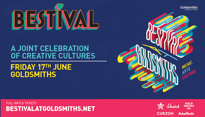 BESTIVAL AT GOLDSMITHS  – THIS FRIDAY – FREE TO ATTEND