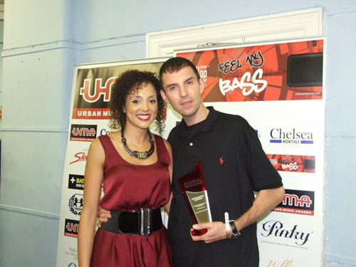 Image of Tim Westwood and presenter Naomi Goodman