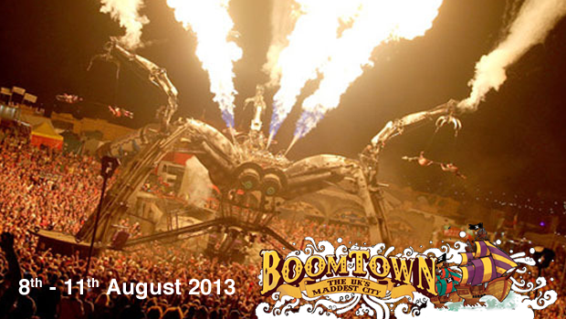 BOOMTOWN  8th – 11th August 2013