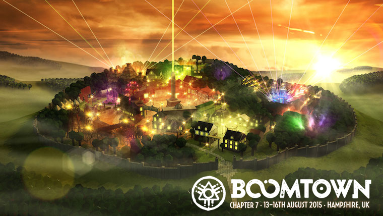 BoomTown Fair – August 13-16th 2015