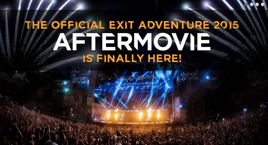 EXIT FESTIVAL AFTERMOVIE WITH STUNNING 360 VIDEO