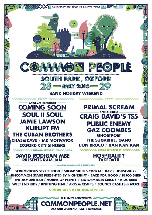 Common People  – Southampton & Oxford