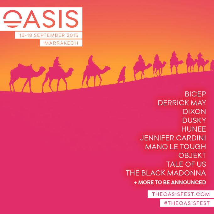 OASIS FESTIVAL 2016 – Morocco's leading electronic music festival