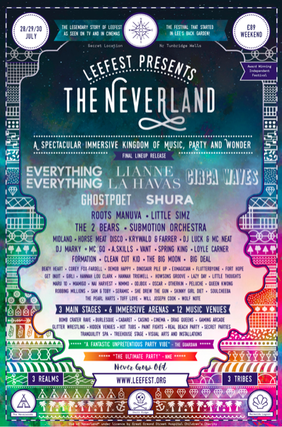 FRANK CARTER & THE RATTLESNAKES ANNOUNCED FOR SURPRISE SECRET SET ATLEEFEST PRESENTS: THE NEVERLAND
