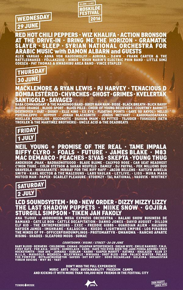 Roskilde Festival announces full line-up