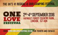 One Love Festival:  2nd – 4th September (London)