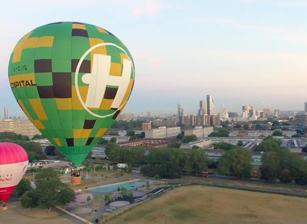 Hospitality Hot Air Balloon!