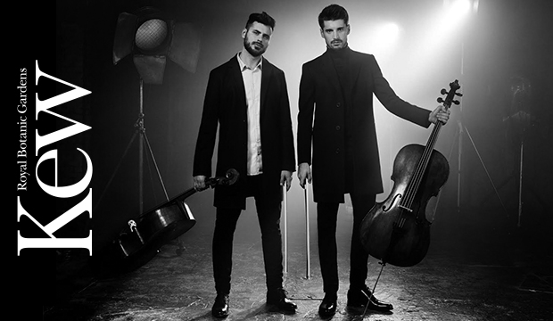 Kew the Music Announces Final Artist for 2018 Festival – 2CELLOS