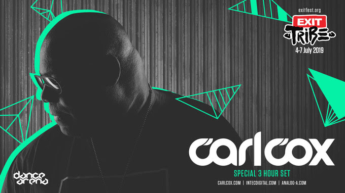 The Return of the King: Carl Cox is Coming Back to EXIT with a Special 3 hour Set!