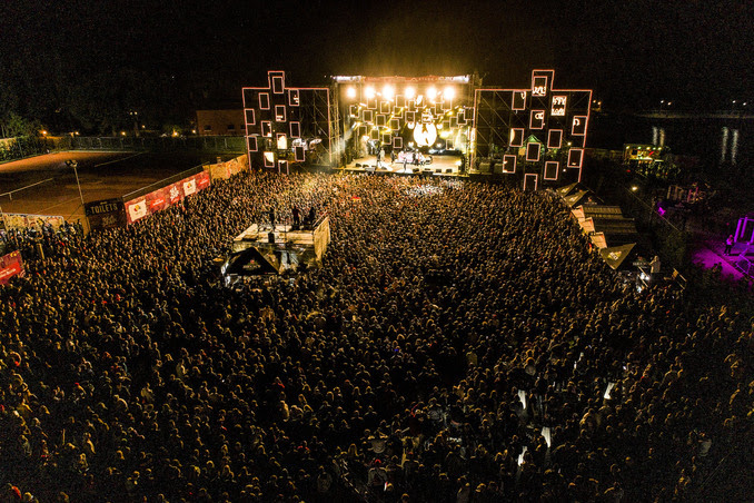 Sea Star festival promoted by EXIT sent a strong peace message from the Croatian seaside