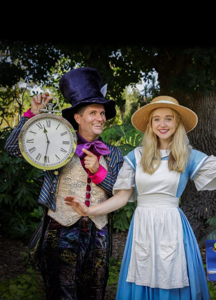 Alice in Wonderland at Royal Botanic Gardens, Kew