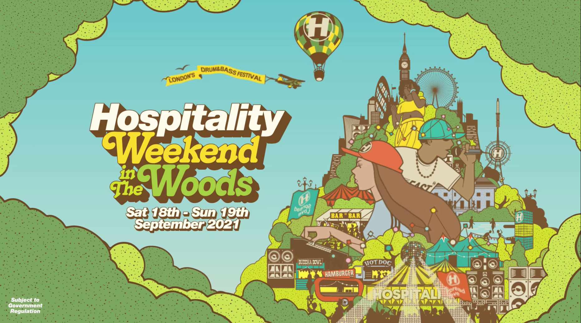 Hospitality Weekend In The Woods